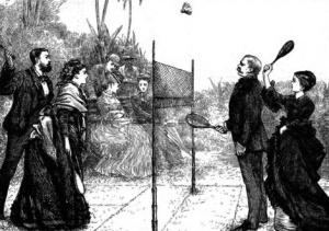 Historie badmintonu